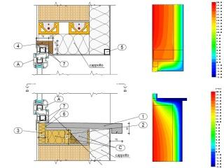 Analisi elementi finiti ponti termici studio tecnico garelli - Ponte termico finestra ...