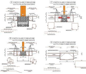 Consolidamento fondazioni muratura