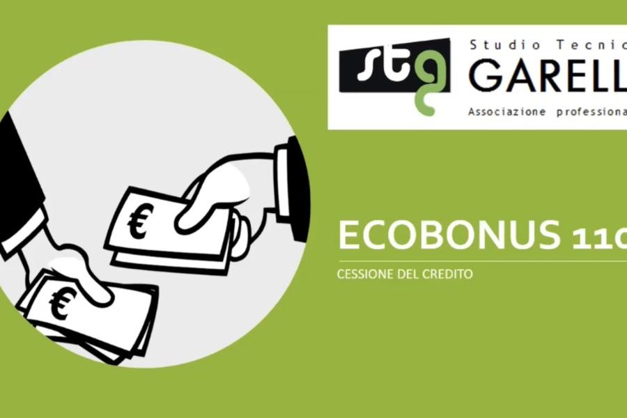 Ecobonus 110% – la cessione del credito